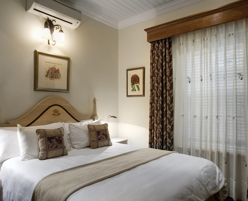 Luxury rooms in our Stellenbosch hotel